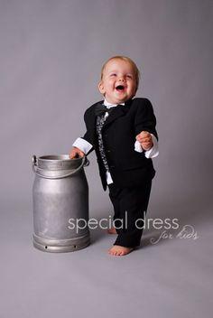 slávnostný oblek pre chlapca