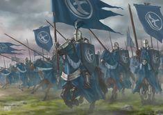 Knights of The Vale, Fadly Romdhani on ArtStation at https://www.artstation.com/artwork/vYxqd