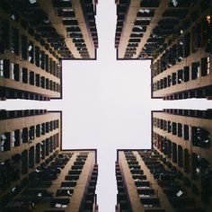 Second Place photo contest for architecture: Chun Wai To, from Hong Kong..You get a whole different perspective just by looking up!