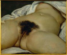 The Origin of the World, 1866 - Gustave Courbet