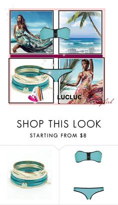 """Endless Summer"" by fl4u ❤ liked on Polyvore featuring GUESS, COVERGIRL and lucluc"