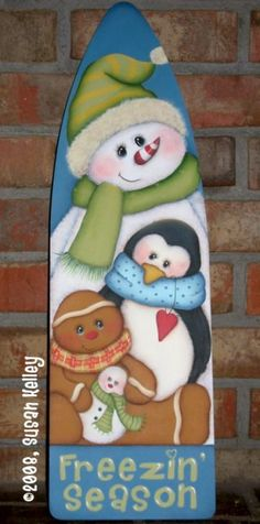 Newly Added Painting Patterns / e-Patterns Christmas Yard Art, Christmas Wood, Christmas Signs, Winter Christmas, Christmas Tree Decorations, Christmas Wreaths, Christmas Ornaments, Xmas, Painted Ironing Board