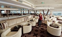 Seven Seas Mariner - Observation Lounge #visioncruise #cruise
