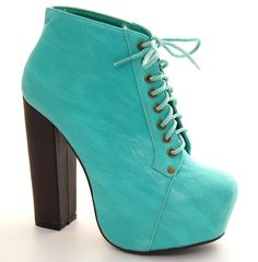 Sexy Super Star Lace Up Ankle Booties Thick Chunky Platform High Heel Boots Shoe | eBay