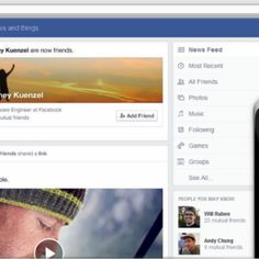 Facebook on Thursday unveiled its first major redesign of the News Feed since 2009, making the page more visually rich, and giving users new options to filter what they see by d...