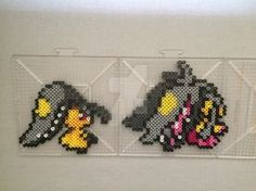 #303 Mawile Perler by TehMorrison