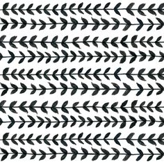 Black and white Laurel leaves fabric by crumpetsandcrabsticks on Spoonflower - custom fabric Pattern Quotes, Free Printable Art, Rug Inspiration, Laurel Leaves, Black And White Background, Black And White Aesthetic, Surface Design, Surface Pattern, Pretty Patterns
