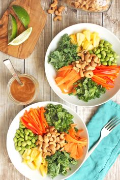 Enjoy this vegan and gluten-free Thai Cashew Salad with Spicy Peanut Sauce for a wholesome and satisfying meal that everyone will love.