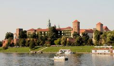 Wawel Castle and Cathedral with the River Vistula, Krakow, Poland
