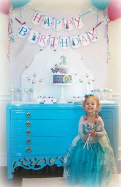 Chrissi Shields: Disney Frozen Birthday Party