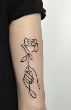 Tattoos — ~I've been into flowers lately… must be spring!~