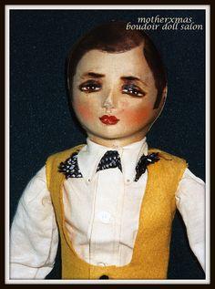 boudoir doll man. Painted hair etta