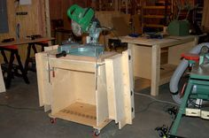 Small shop power tool storage ideas??? - The Garage Journal Board