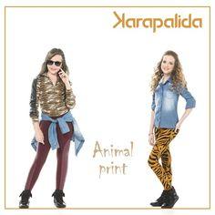 Diferentes estampas, mas a mesma pegada fashion. Como você prefere o animal print?  #karapalida #inverno2016 #dupladeanimalprint