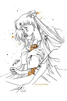 Demando and Serenity by Ash Sailor Moons, Sailor Moon Manga, Watch Sailor Moon, Sailor Moon Fan Art, Sailor Moon Coloring Pages, Sailor Moon Kristall, Sailor Moon Wallpaper, Pokemon, Princess Serenity