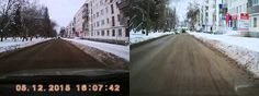 Качество съемки видеорегистратора с двумя объективамWisedeal F30