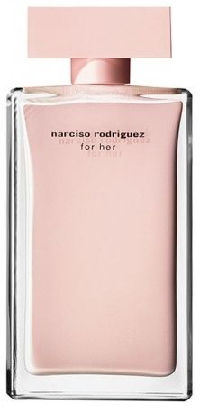Pink perfume; Narciso Rodriguez for Her