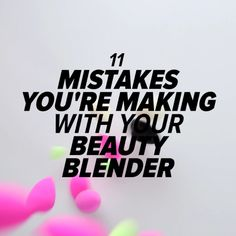One might think there isn't much to using the blender: just wet, dab, and apply to your skin for a flawless finish, right? But there are actually several ways you're incorrectly using the blender and possibly endangering its lifespan! (Cue the screams.) In an effort to keep your blenders safe from harm's way, check out the video to learn what to avoid when it comes to using your blender, and let us know your favorite way to use it!