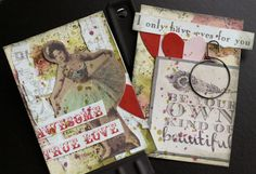 Create without limits: Valentine ATC - Canvas Corp Brands