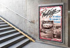 Girgász János webdesigner hallgatóm Vintage posztere
