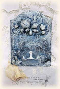 Вешалка для ванной комнаты «Морская пучина» - Ярмарка Мастеров - ручная работа, handmade