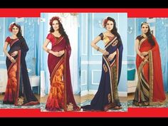 Trendy Georgette Indian Sarees Collection  #Trendy #Georgette #IndianSarees @ http://aapkabazar.in/womens.html