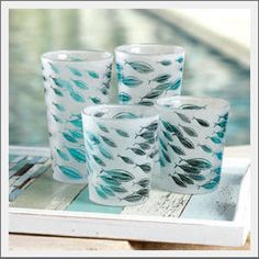Have been looking all over for these! Finally found them, and they are out of stock :-/  Have 2 and want to get more! Frosted Fish Glassware $12-$14