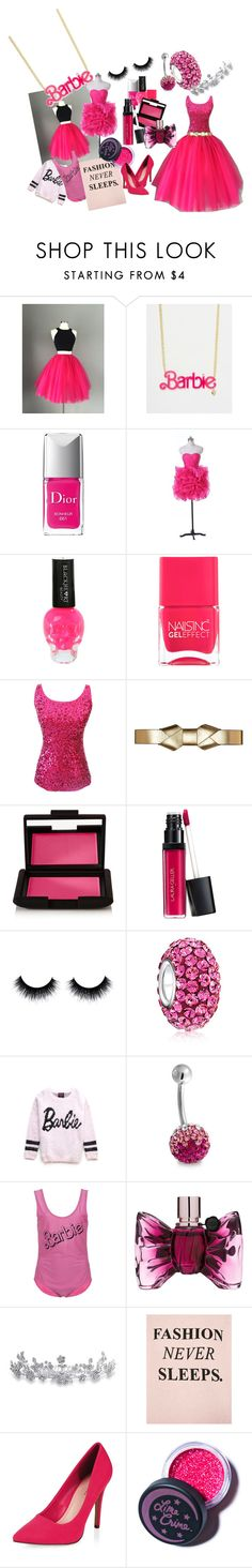 """The fashion fairytale !!!"" by alolika-chk ❤ liked on Polyvore featuring Christian Dior, Nails Inc., Marni, NARS Cosmetics, Bling Jewelry, Forever 21, Viktor & Rolf, Bershka, Lime Crime and women's clothing"