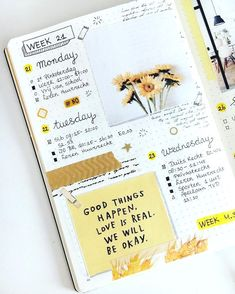 Find images and videos about journal, bullet journal and bujo on We Heart It - the app to get lost in what you love. Bullet Journal School, Bullet Journal Inspo, Bullet Journal Aesthetic, Bullet Journal Writing, Bullet Journal Themes, Bullet Journal Spread, Bullet Journals, Bullet Journal 2019, Art Journal Pages