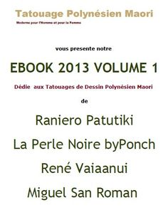 Tatouage Polynésien Maori Ebook Volume 1 en Pdf
