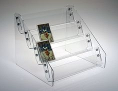 These clear acrylic countertop stands are designed for about a dozen elegant high quality and affordable greeting card displays racks and holders in clear acrylic or birch plywood m4hsunfo