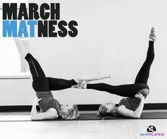 #jessicagarrett #robinzukowski #ghfpilates #matpilates #marchmatness2016 #scissors