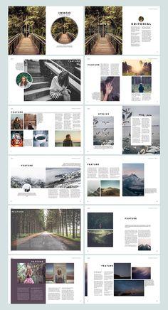 New Design Magazine Layout Art Ideas Mise En Page Portfolio, Portfolio Layout, Portfolio Design, Design Editorial, Editorial Layout, Graphisches Design, Book Design, Design Ideas, Graphic Design