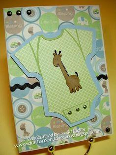 Cricut Baby Boy Card Tarjetas Infantiles 64d0334e176