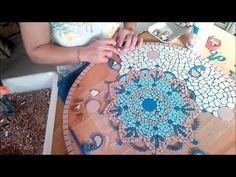 "Taller de mosaico Lorena Faiad / ""rosas rojas para laura"" - YouTube"