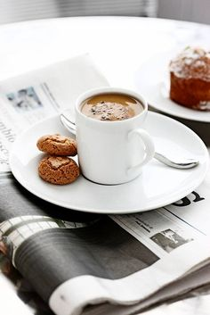 Caffè con giornale