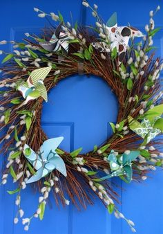 Pinwheel Wreath - Pinwheel Wreath Repinly Design Popular Pins