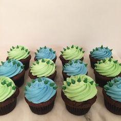 Dinasour Birthday, Dinosaur First Birthday, Baby Boy 1st Birthday Party, First Birthday Parties, Third Birthday, Birthday Ideas, Elmo Birthday, Boy Birthday Cupcakes, Baby Boy Cupcakes