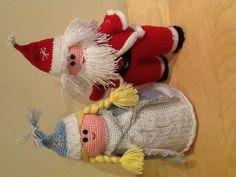 Talin Santa and Snow Princess!