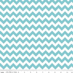 Small Chevron aqua print by Riley Blake Designs BTY by the yard Do I attempt to make Lewis a tie?
