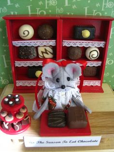 Tis the Season to Eat Chocolate   by atticmouse on Etsy