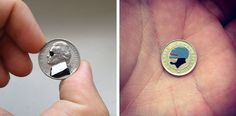 Tales You Lose – Coin Paintings by Andre Levy
