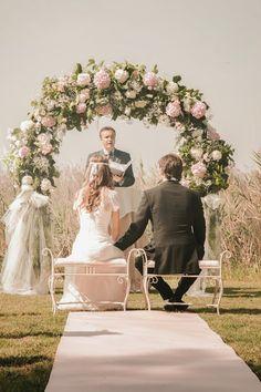¡Pon un arco de flores en la decoración de tu boda! | Preparar tu boda es facilisimo.com