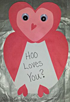 Squarehead Teachers: Valentine Crafts for Kids (cute heart animals)