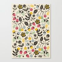 Food Stretched Canvases | Society6