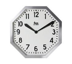 LowisIndustryOctagonClock/ルイスインダストリーオクタゴンクロック壁掛け時計クロック時計DETAIL【あす楽対応_東海】