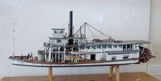 """Steamboat """"Red Bluff.""""  Model for Nonhelema."""