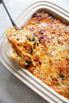 Italian Spaghetti Squash Bake {Grain-free, gluten-free, paleo-friendly option} | Lexi's Clean Kitchen
