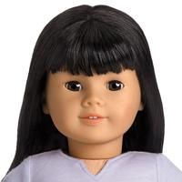The Asian Mold was the third face mold created for the American Girl Doll line. It was released in 1995 and retired in 2011. The most distinguishing characteristic of the Asian face mold are the perceivably thinner and tilted eye sockets that are intended to visually direct a doll's ethnicity as East Asian. The nose is wider than the Classic Mold, although not as wide as the Addy Mold or Sonali Mold. The mold has a rounded chin and full cheeks.
