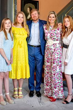 Princess Ariane, Princess Amalia The Princess of Orange, Dutch King Willem-Alexander, Queen Maxima and Princess Alexia Nassau, Royal Tiaras, Dutch Royalty, Noblesse, Blue Bloods, Queen Maxima, Royal House, Famous Women, Royal Fashion